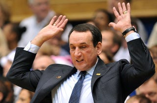 Illustration for article titled Mike Krzyzewski Thinks Tanking NBA Teams Are Un-American
