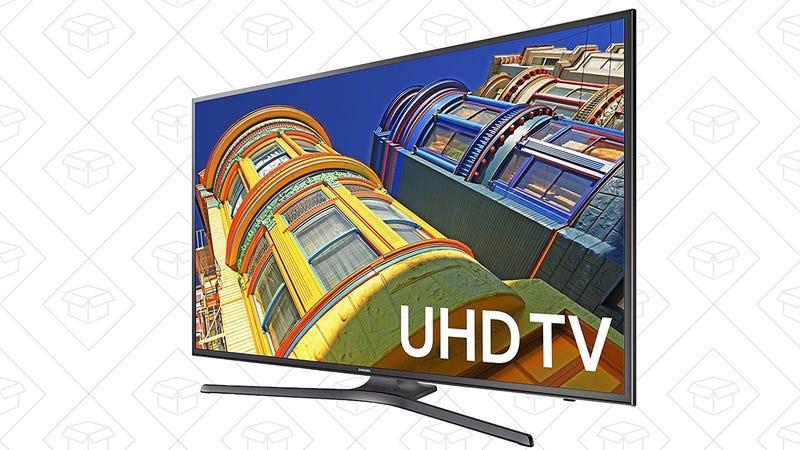 "Samsung 60"" 4K TV, $598"