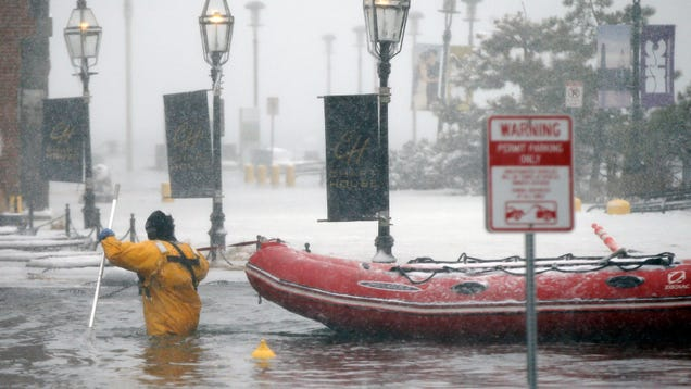 Why Do Nor easters Cause Such Bad Flooding?