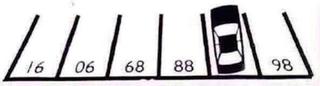 Illustration for article titled Can You Figure Out This Parking Lot's Numbering System?
