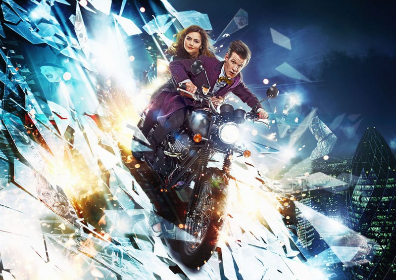 Illustration for article titled The Doctor and Clara face their deadliest enemy... Photoshop!