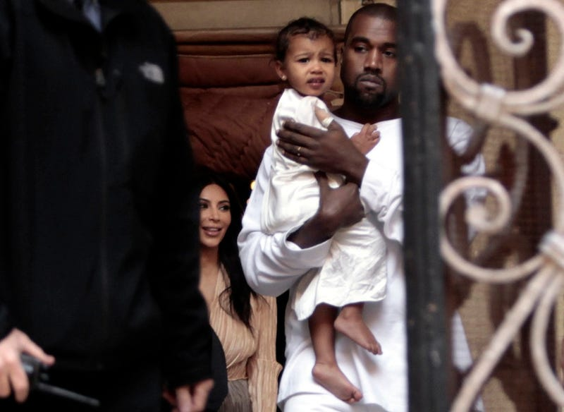 Illustration for article titled Surprise, Surprise: North West is Obsessed with Selfies