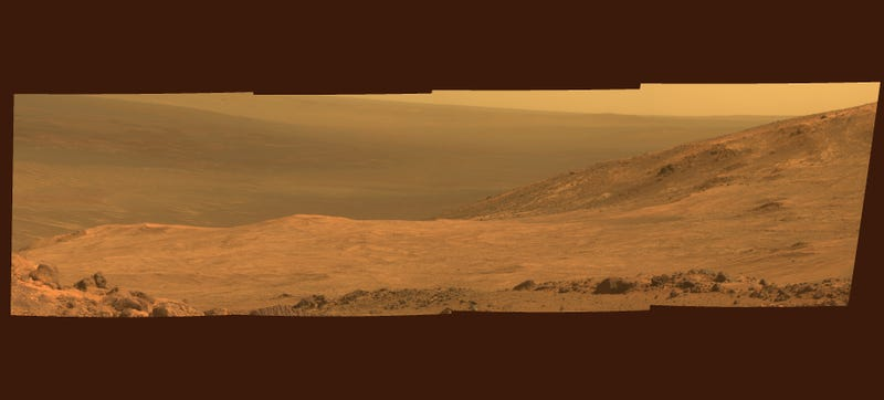 Illustration for article titled Mars's Marathon Valley Sure Is Pretty