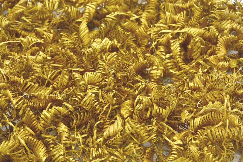 Illustration for article titled Archaeologists Baffled By 2,000 Tiny Gold Spirals Discovered In Denmark