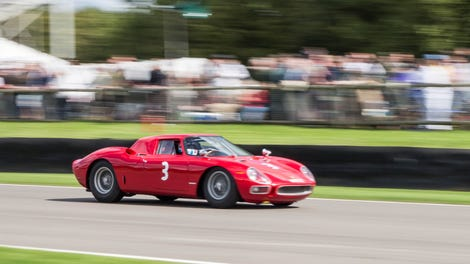 Here S Chris Harris Screaming Around The Goodwood Circuit In A Ferrari 250 Lm