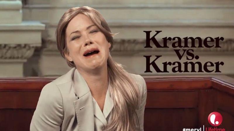 Illustration for article titled Christina Applegate is Meryl Streep in Meryl: The Lifetime Biopic