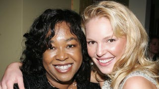 Illustration for article titled Shonda Rhimes Refuses to Work With Assholes Like Katherine Heigl