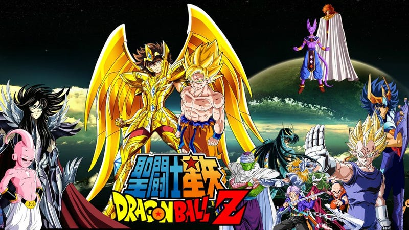 Illustration for article titled Dragon Ball Super and Saint Seiya Soul of Gold will come to Latin América!