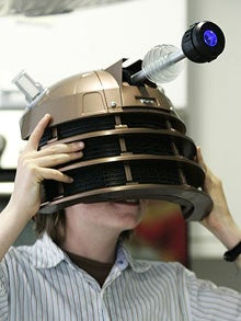 Illustration for article titled Two Men and a Dalek Mask Arrested in Weird Ex-Girlfriend Kidnapping Plot