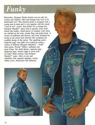 """Funky"" Jean Jacket Is The Perfect Christmas Gift For ..."