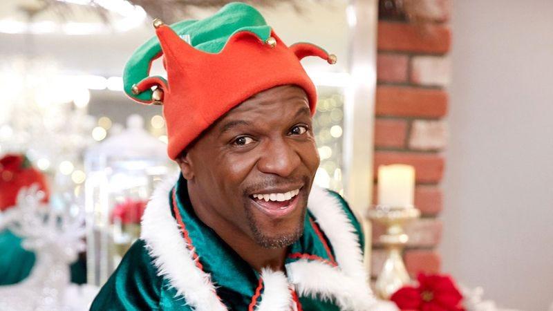 Terry Crews Saves Christmas (Photo: The CW)