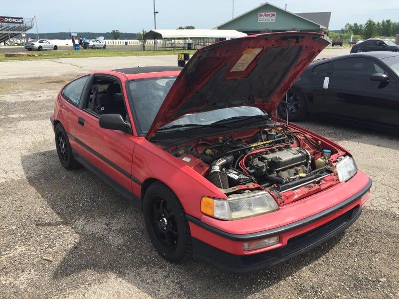 "My 1990 Honda CRX Si ""Koopa"""