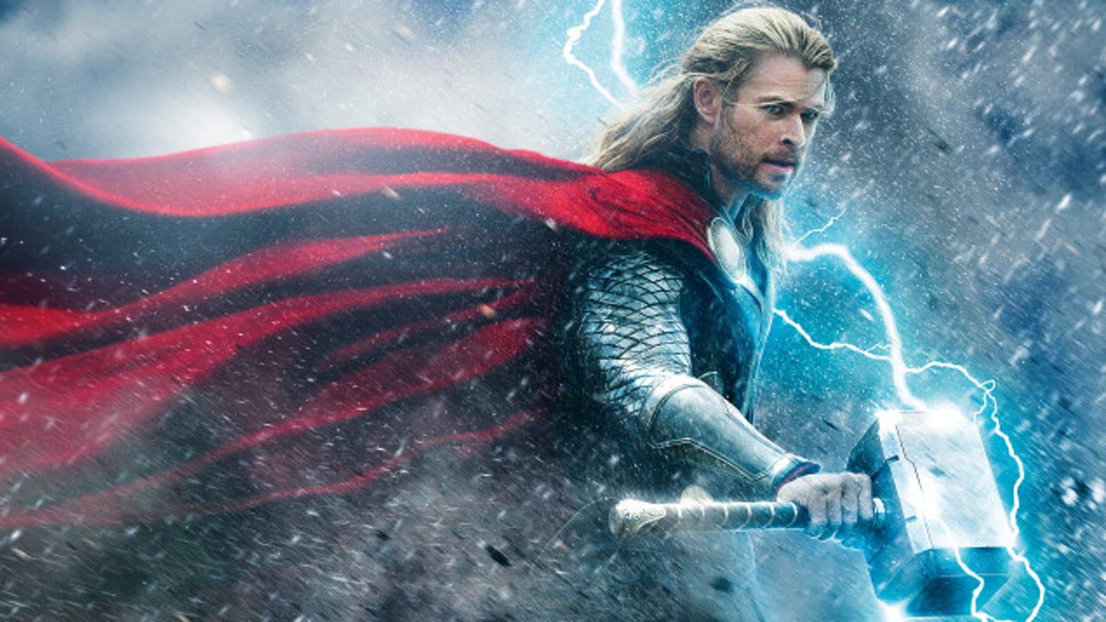 Cuánto pesa el martillo de Thor, según la física