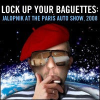 Illustration for article titled Jalopnik's Top Reveals From The 2008 Paris Motor Show: Morning, Day Two