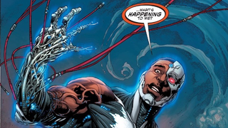 Illustration for article titled Cyborg's New Comic Look Is Basically Terminator Genisys' New Terminator