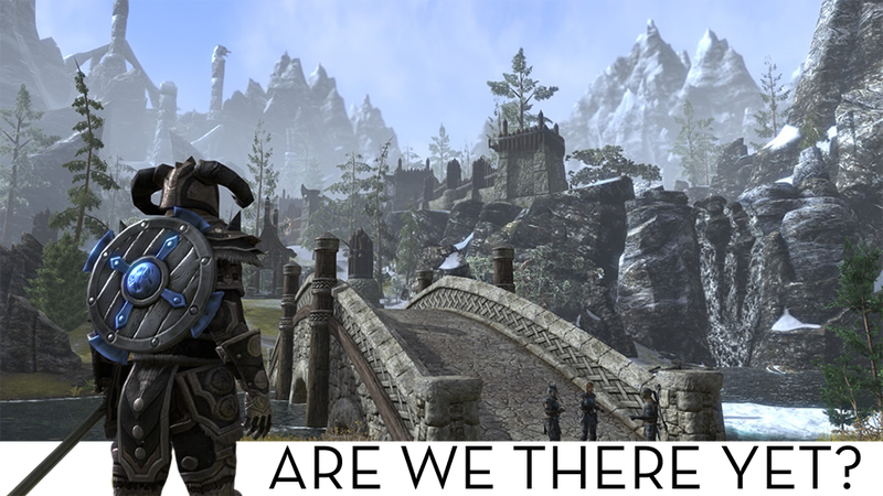 Illustration for article titled When We Can Start Playing The Elder Scrolls Online