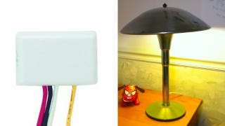 Illustration for article titled Turn a Lamp On and Off Just by Touching It with This DIY Tweak
