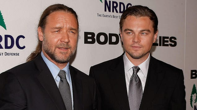 Russell Crowe has a story we can all relate to: Getting drunk and buying a dinosaur skull from Leonardo DiCaprio