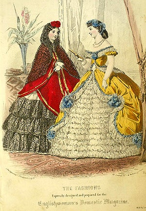 Illustration for article titled Frizzy Hair Is All The Rage! In 1863 England, That Is