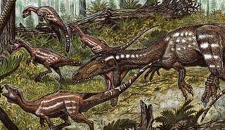 Descubren especie de dinosaurio que sobrevivió a una extinción masiva