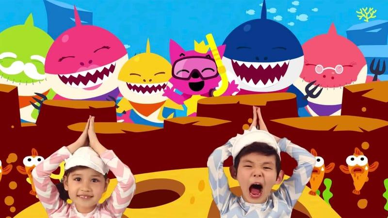 Illustration for article titled La ciencia detrás deBaby Shark, la canciónque tanto niños como adultos acaben tarareándola sin pensar