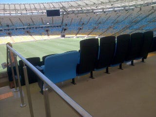 Illustration for article titled Obese Fans Will Get Discounts, Special Wider Seats At The World Cup