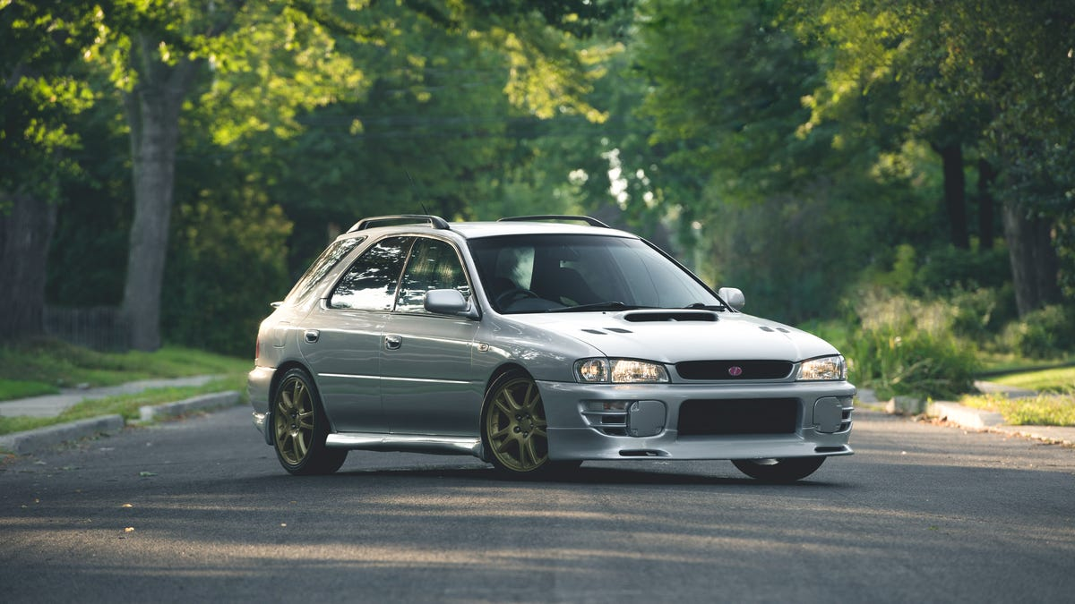Here S How The Forbidden Fruit Subaru Wrx From The 1990s Drives Today