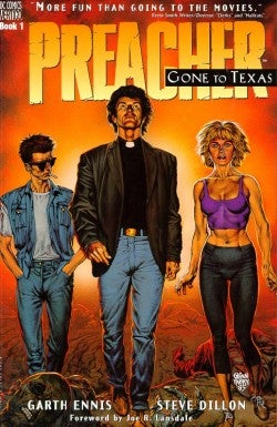 """Illustration for article titled Seth Rogen and Evan Goldberg's """"Preacher"""" adaptation official at AMC"""