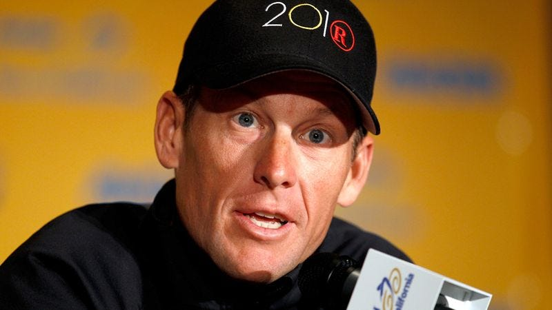 Illustration for article titled Lance Armstrong Wants To Tell Nation Something But Nation Has To Promise Not To Get Mad