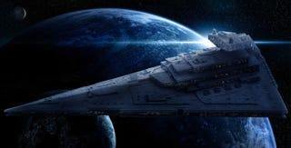 Illustration for article titled 40.000 piezas de Lego: así se construye una colosal nave de Star Wars