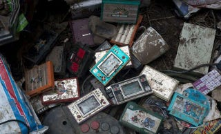 Illustration for article titled Vintage Gaming Collection Washed Away In Aussie Floods