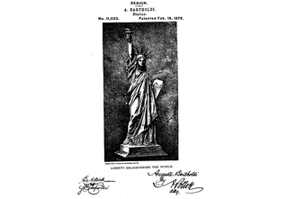 Illustration for article titled The Statue of Liberty Has Her Own Patent