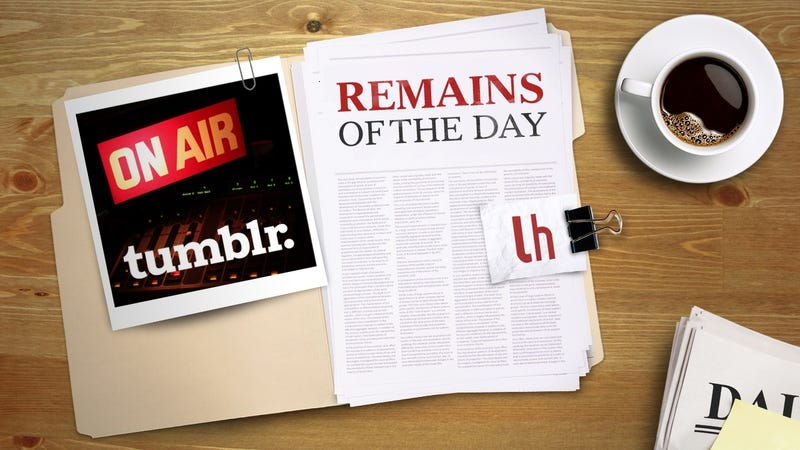 Illustration for article titled Remains of the Day: Live Video Comes to Tumblr