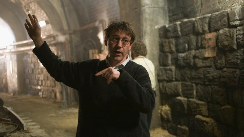 Sam Raimi on the set of Oz the Great and Powerful. Image: Disney
