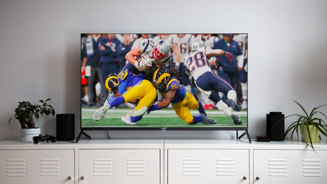 There s a Reason the Super Bowl Is Being Broadcast in Fake 4K