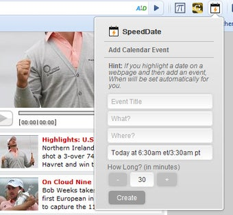 Illustration for article titled SpeedDate Quickly Adds Events to Google Calendar, Automatically Fills Event Details