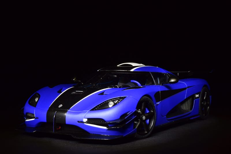 Illustration for article titled Diecast After Dark: AUTOart Koenigsegg One:1