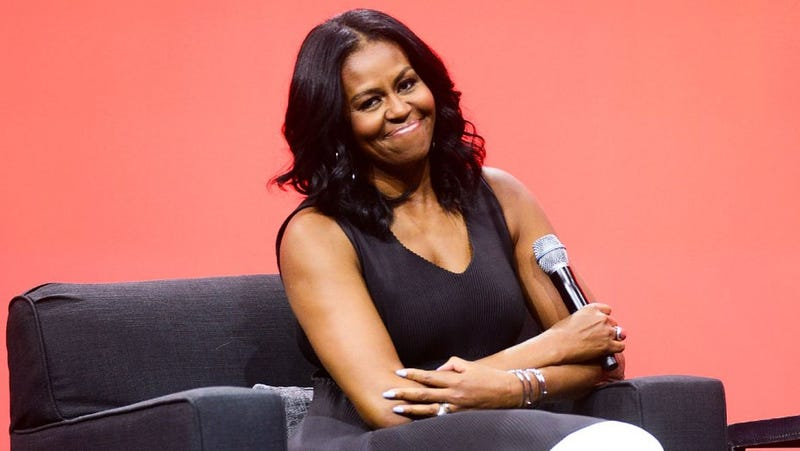 Illustration for article titled Michelle Obama Secures Bag, Adds 21 Book Tour Dates
