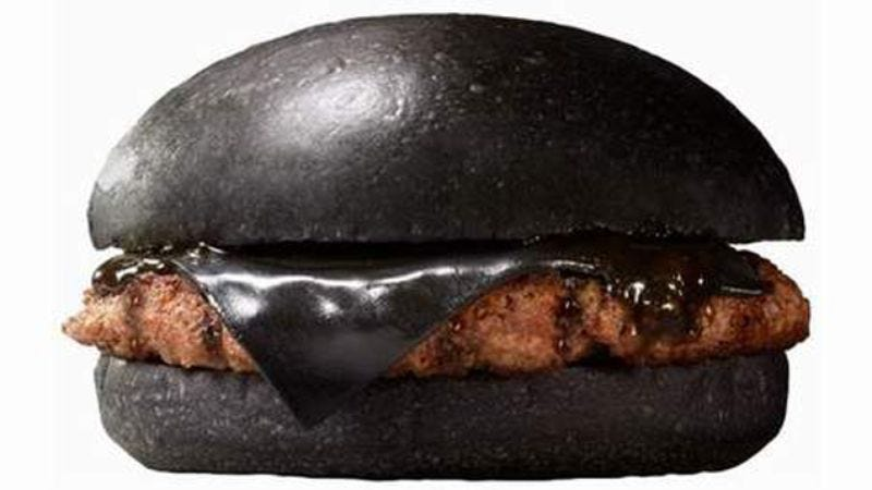 Illustration for article titled Just in time for Halloween, Burger King might bring its black burgers to the U.S.