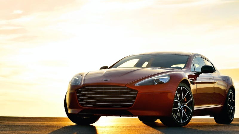 Illustration for article titled 2013 Aston Martin Rapide S: What A Big Mouth You Have!