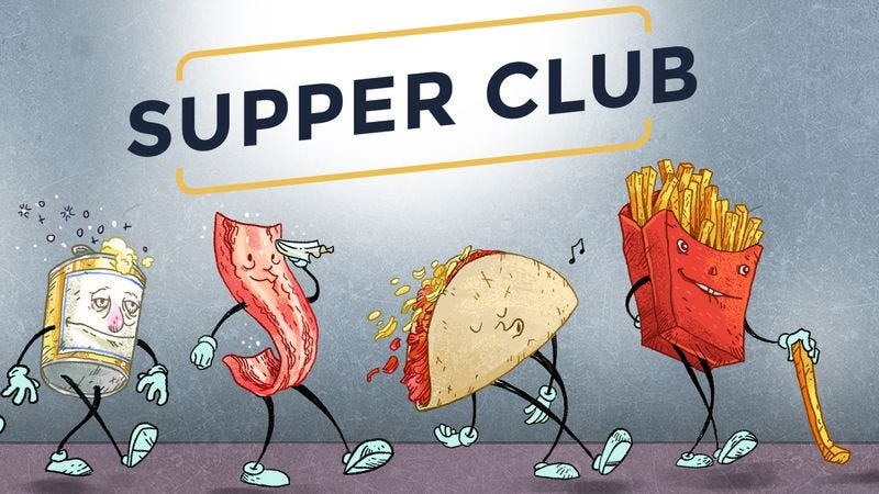 Illustration for article titled Supper Club heads home for the holiday, so enjoy our smorgasbord of favorite stories