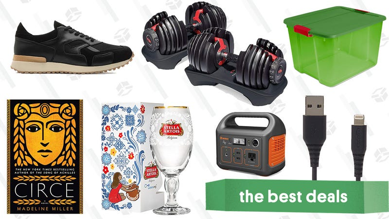 Illustration for article titled Sunday's Best Deals: Portable Power, Home Organization, Kindle Favorites, and More