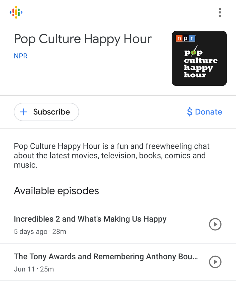 How to Get Started in Google's New Podcasts App