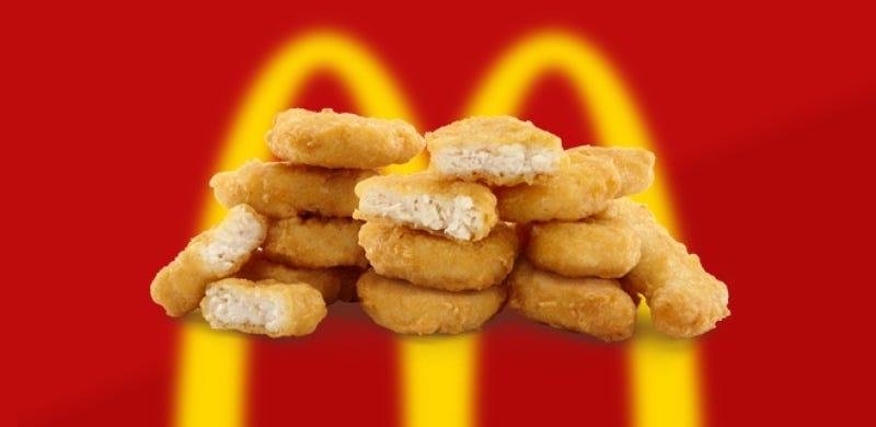 Illustration for article titled McDonald's cambia la receta de sus nuggets y sus bollos para hacerlos más saludables