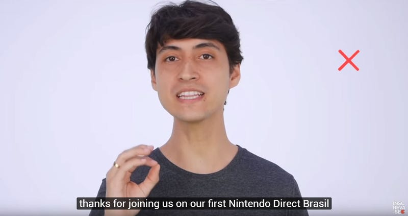 Illustration for article titled Ignored By Nintendo, Brazilian Fans Film Their Own Nintendo Direct