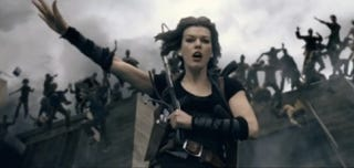 Illustration for article titled 3 new Resident Evil: Afterlife clips make good use of their new 3D powers