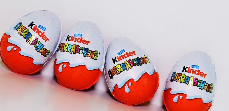 La increíble historia de por qué Estados Unidos no permite la venta de huevos de Kinder en el país