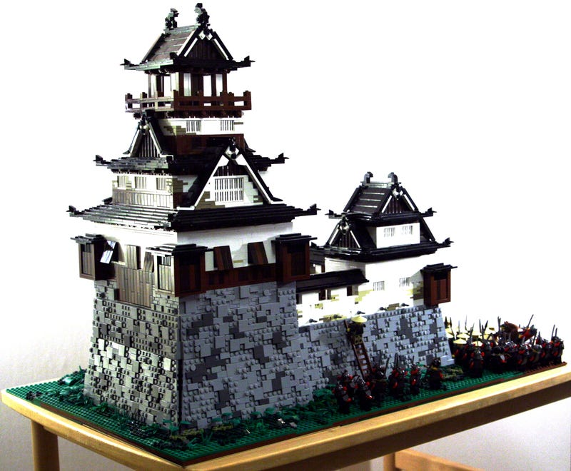 Illustration for article titled Lego castles aren't always European
