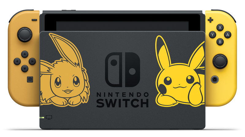Illustration for article titled Nintendo Announces Pikachu And Eevee Switch Bundles