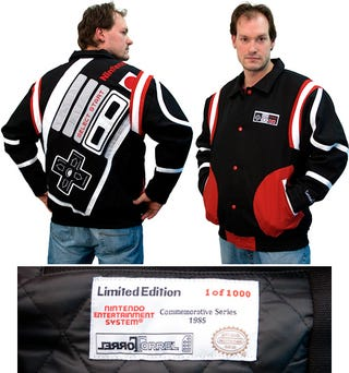 Illustration for article titled NES Varsity Jacket Is a Limited Edition for a Reason